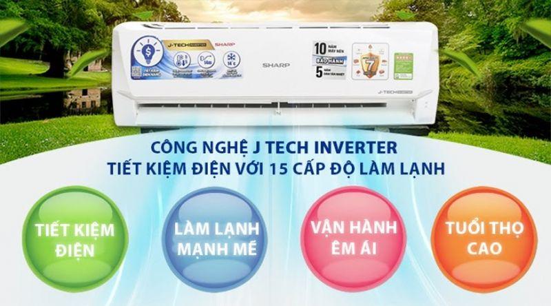 máy lạnh nội địa nhật inverter siêu tiết kiệm điện